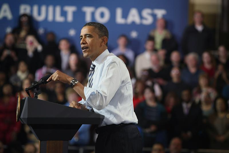Obama Visits Master Lock Company, Discusses Economic Plan In Milwaukee