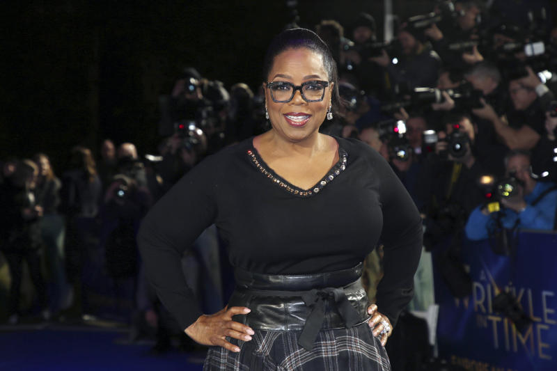 Oprah Winfrey Surprise Donation