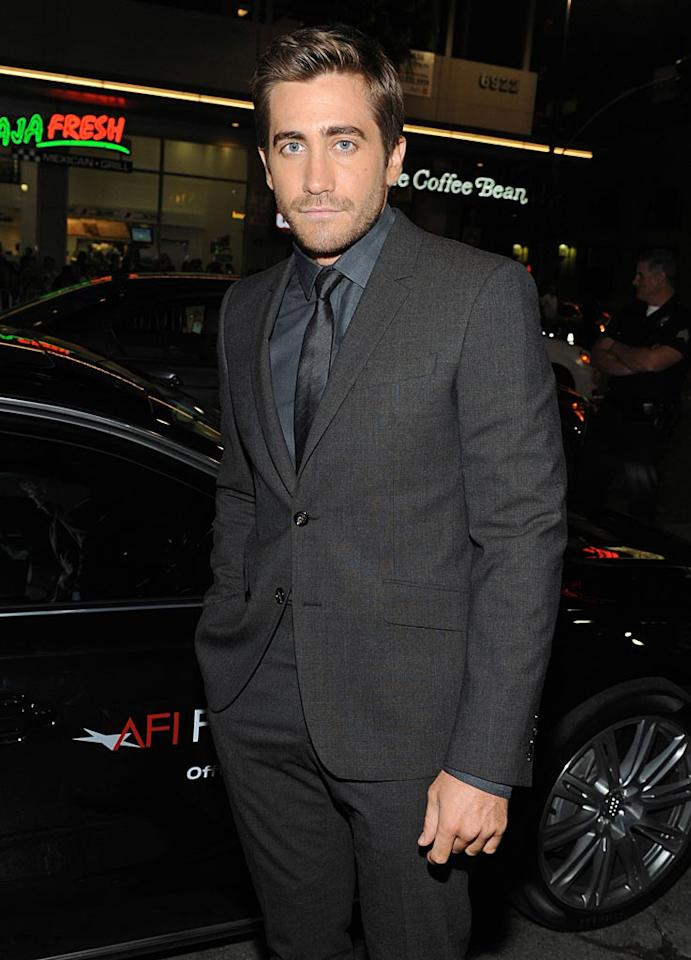 "December 19: Jake Gyllenhaal turns 30 Kevin Parry/<a href=""http://www.wireimage.com"" target=""new"">WireImage.com</a> - November 4, 2010"