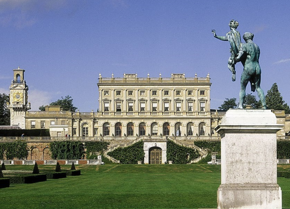 Cliveden House Hotel is a five star country house hotel in Berkshire near London [Photo: Cliveden House]