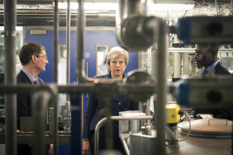 Theresa May announces net zero emissions goal for 2050
