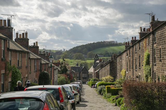 Houses in Belper, Derbyshire, as figures show rising numbers of private renters. (Richard Gray/EMPICS Entertainment)