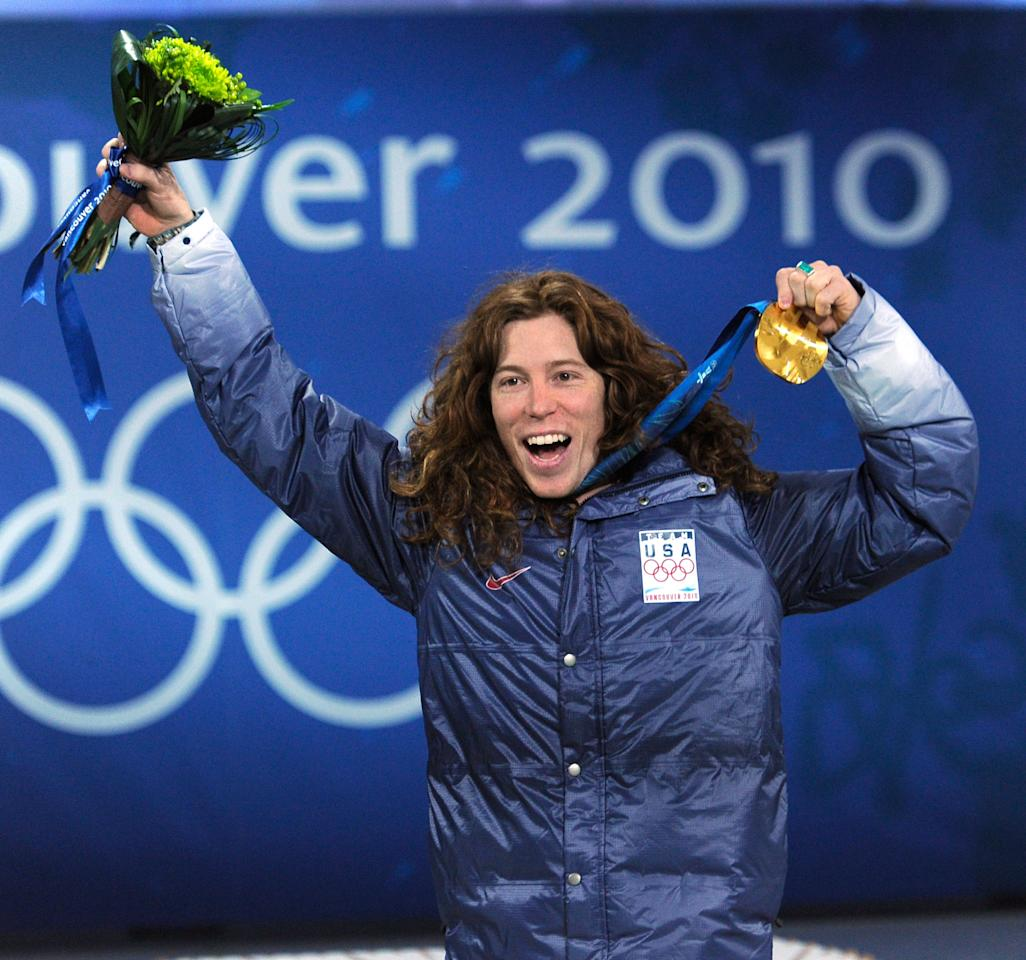 <p>The face of snowboarding, not just in the US but around the world too, Shaun White made the sport popular. He took home two gold medals in the halfpipe in 2006 and 2010, but finished fourth in 2014. White will compete in PyeongChang for his third gold medal. </p>