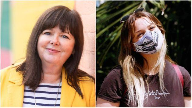 Angela Burgess (left) thinks it's time to unlock, but Evelyn Richards (right) thinks under 30s are being 'left behind' (Photo: HuffPost UK)