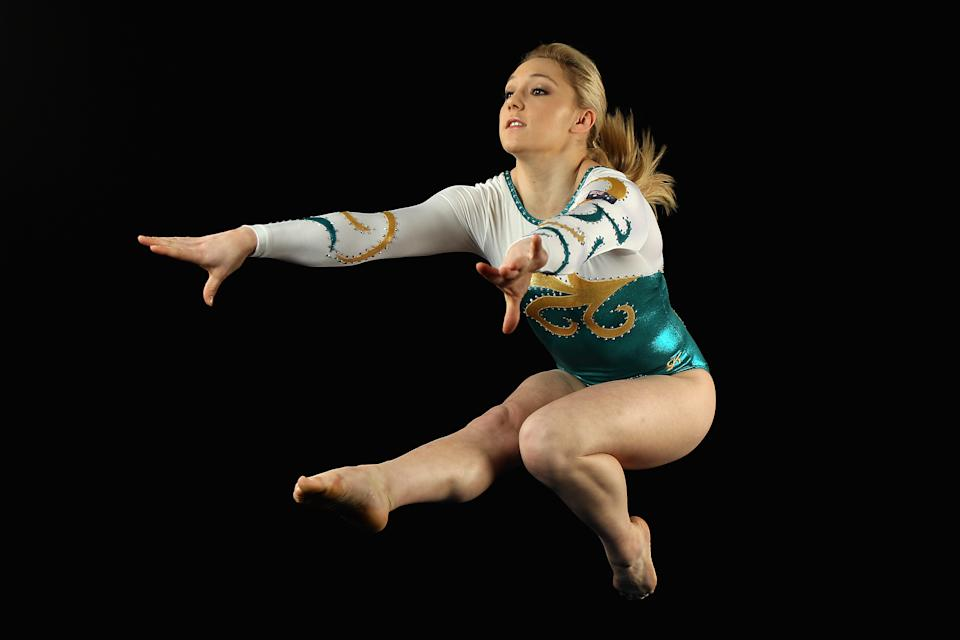 Australian artistic gymnast Emily Little, 18, poses during an Australian Gymnastics team portrait session at the State Sports Centre on May 26, 2012 in Sydney, Australia. (Cameron Spencer/Getty Images)