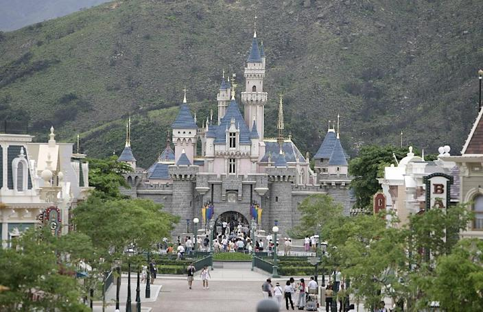 In 2005, Disney opened a theme park in Hong Kong, the former British colony that is now a special administrative region of China (AFP Photo/-)