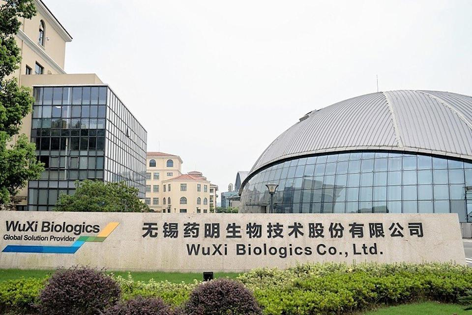 Wuxi Biologics' shareholders sold down stakes via a block trade, valued at US$1.5 billion. Photo: Wuxi Biologics