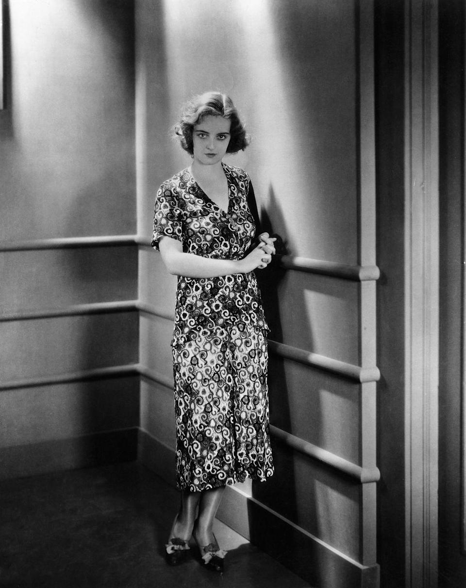 <p>Bette Davis made her film debut in the Universal Studios movie <em>Bad Sister</em>. The film, a pre-Code drama about a young woman who falls for a con artist, was not a commercial success, and Davis was apparently so distressed and insecure in her performance that she left a preview screening early, convinced that her Hollywood career was over. </p>