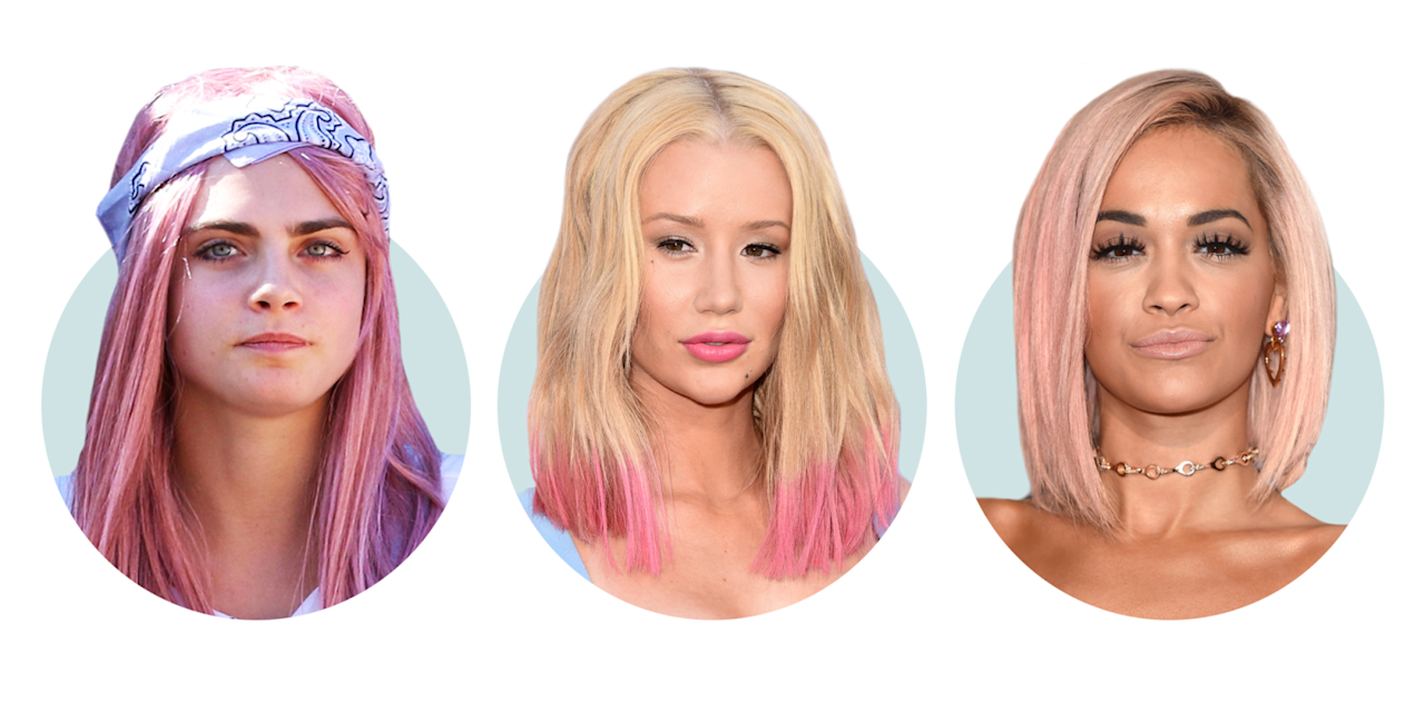 """<p>Based on our crystal beauty ball (AKA the fact that <a rel=""""nofollow"""" href=""""http://www.marieclaire.com/beauty/hair/g2383/celebrity-hair-transformations/"""">we see rosy-hued hair on a new celebrity head everyday</a>), Manic Panic's about to be sold out *everywhere*. From Cara Delevingne's sweet-pink festival hair to Gwen Stefani's '90s bubble-gum realness, there's no shortage of celebrity inspiration to take the color leap.</p>"""