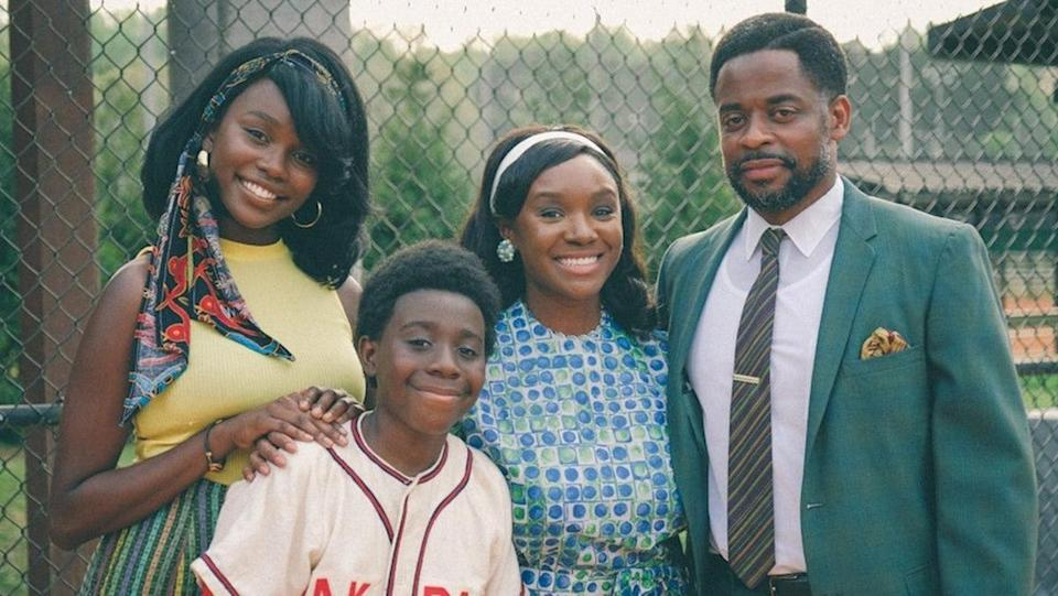 photo of a black family from the wonder years reboot