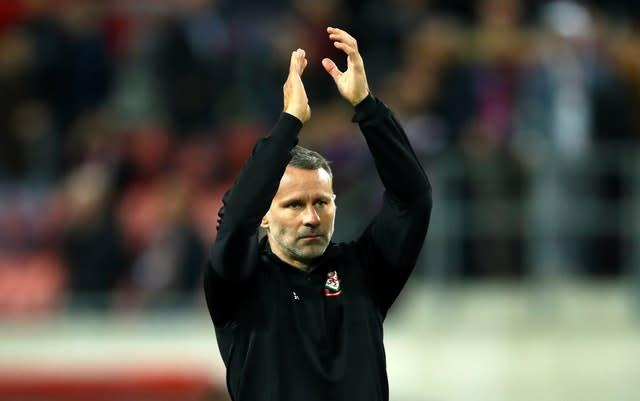 Giggs is prepared for a tough test against Croatia (Tim Goode/PA)