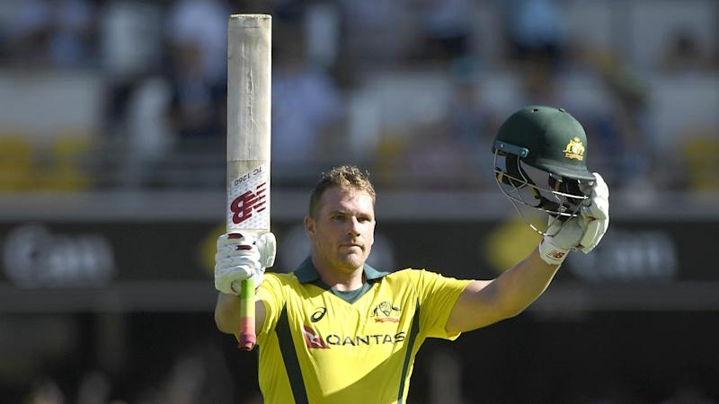 Australia have lost the second ODI against England at the Gabba despite another Aaron Finch century