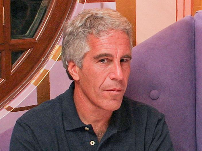 jeffrey epstein seated pic