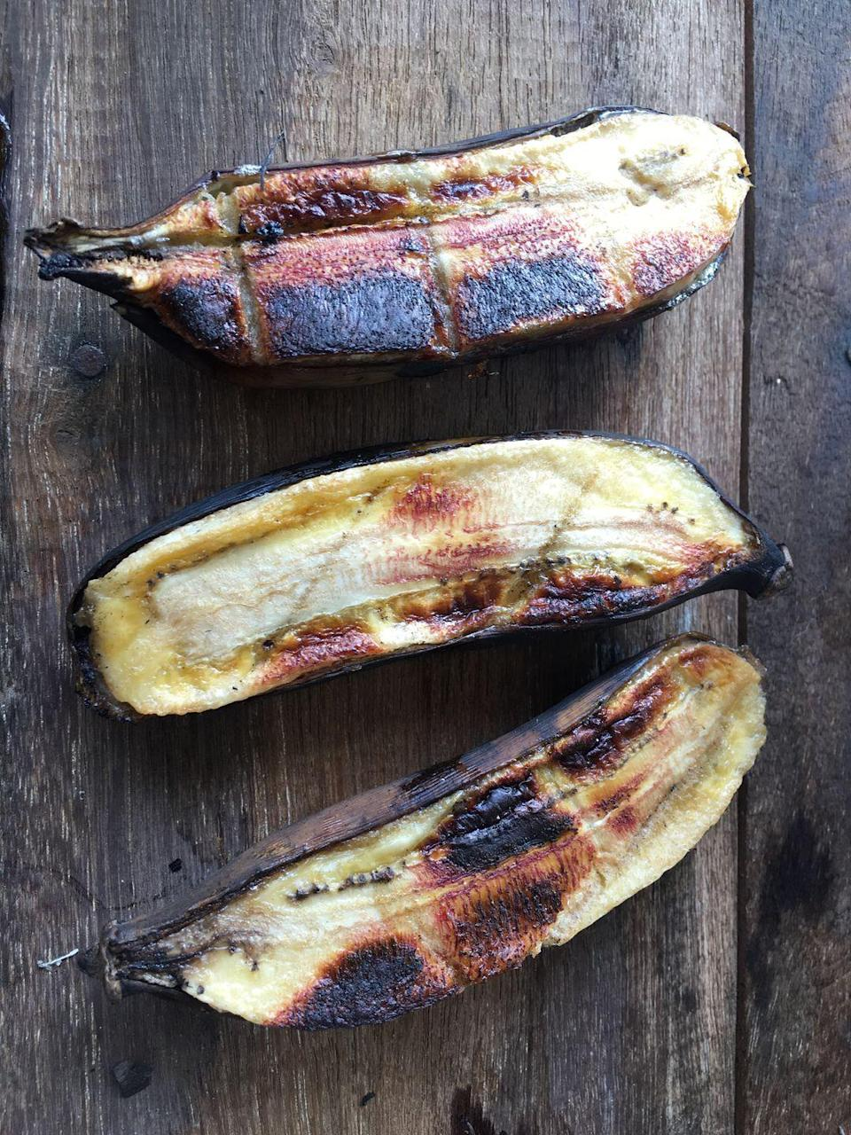 """<p>Have a bunch of unripe bananas that you don't know what to do with? The oven (alongside extra brown sugar and cinnamon) will work to caramelize sugars within the banana on high heat. </p><p><em><a href=""""https://www.goodhousekeeping.com/food-recipes/a4356/broiled-brown-sugar-bananas-1153/"""" rel=""""nofollow noopener"""" target=""""_blank"""" data-ylk=""""slk:Get the Broiled Brown-Sugar Bananas recipe »"""" class=""""link rapid-noclick-resp"""">Get the Broiled Brown-Sugar Bananas recipe »</a></em></p>"""