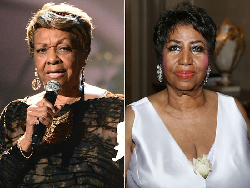 Cissy Houston and Aretha Franklin
