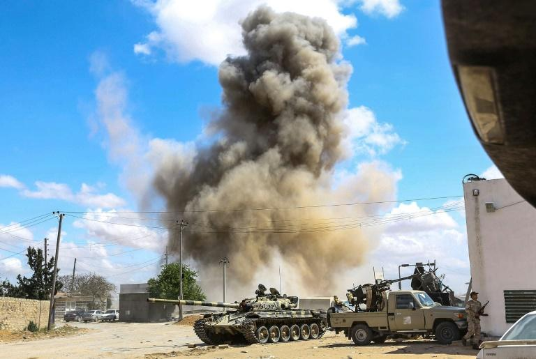 Western powers are keen to stabilise Libya following years of turbulence since the 2011 killing of Moamer Kadhafi