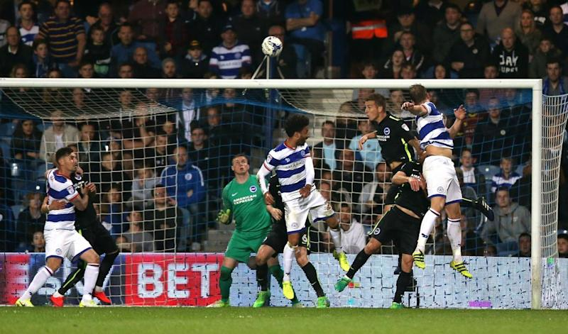 Smith heads QPR back into the contest (Getty Images)