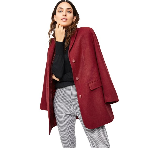 "<br><br><strong>Ellos</strong> Plus Size Long Wool Blend Blazer, $, available at <a href=""https://go.skimresources.com/?id=30283X879131&url=https%3A%2F%2Ffave.co%2F31JLZgO"" rel=""nofollow noopener"" target=""_blank"" data-ylk=""slk:Walmart"" class=""link rapid-noclick-resp"">Walmart</a>"