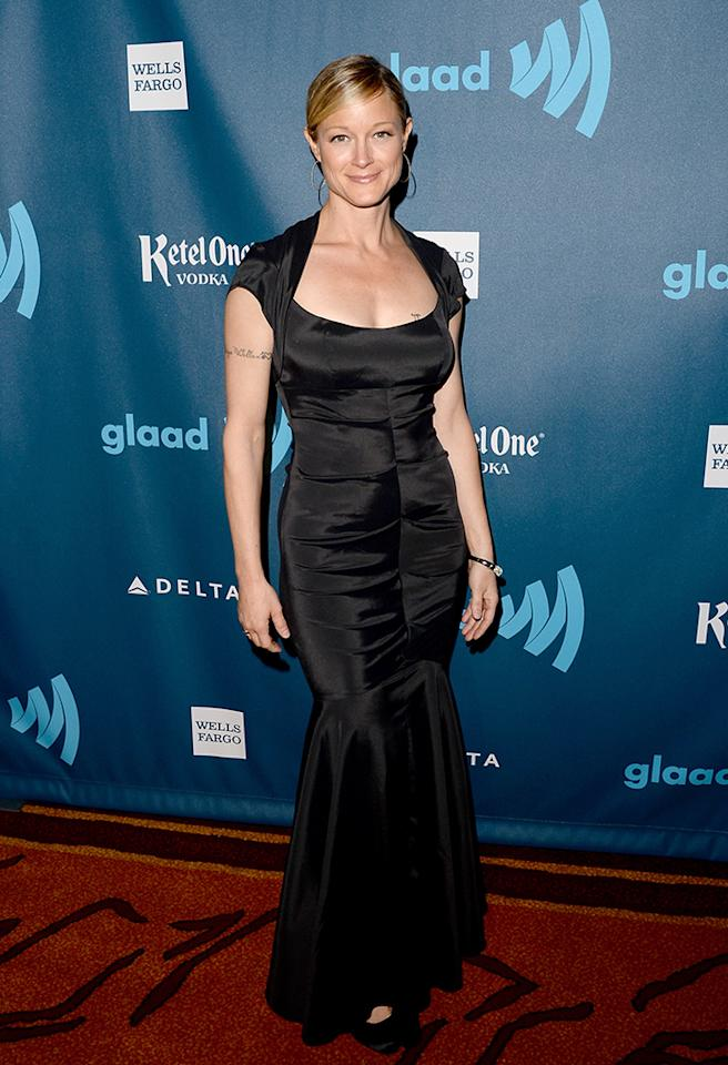 LOS ANGELES, CA - APRIL 20:  Actress Teri Polo arrives at the 24th Annual GLAAD Media Awards presented by Ketel One and Wells Fargo at JW Marriott Los Angeles at L.A. LIVE on April 20, 2013 in Los Angeles, California.  (Photo by Jason Merritt/Getty Images for GLAAD)