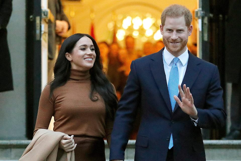 <p>Meghan is suing Associated Newspapers Limited (ANL) over articles which reproduced parts of a handwritten letter to her father Thomas Markle. </p> (AP)