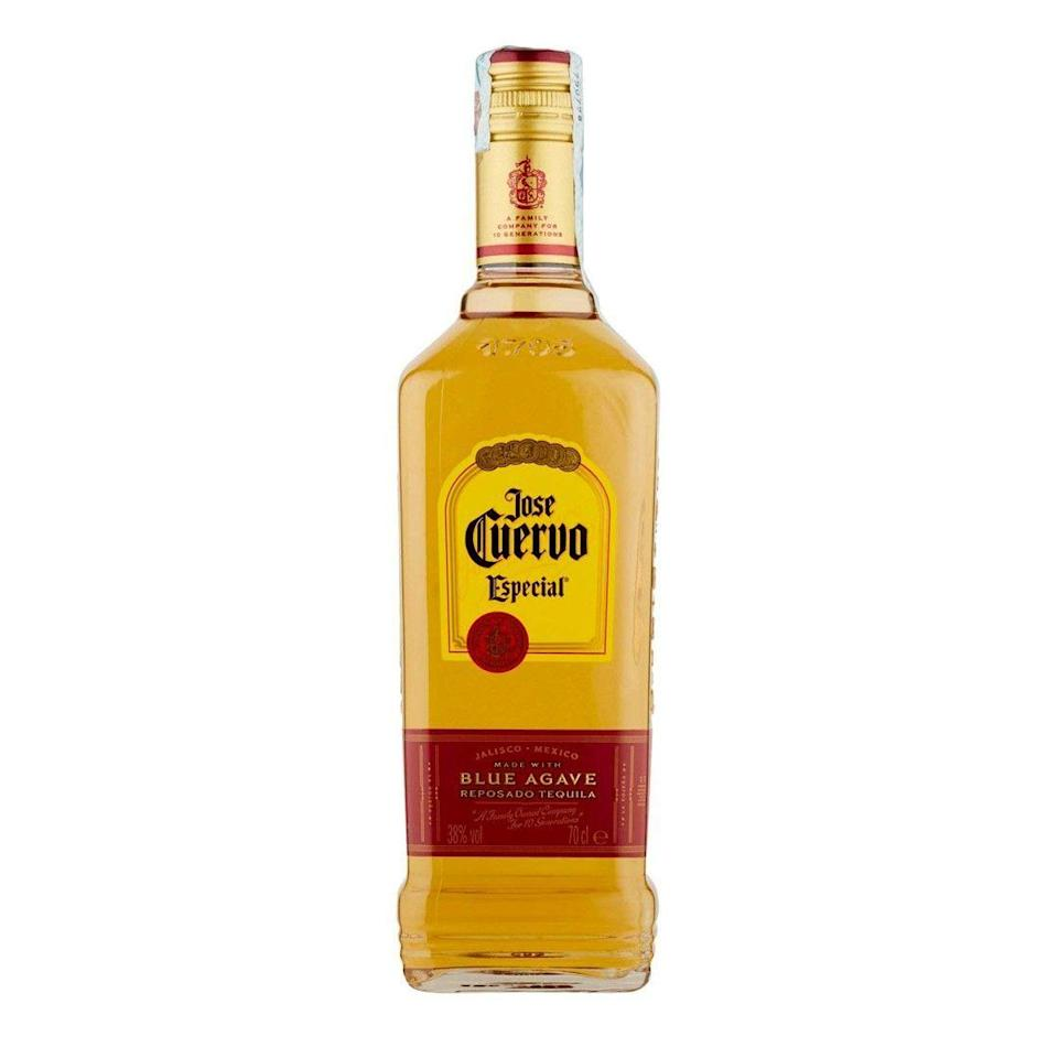 "<p><strong>Jose Cuervo</strong></p><p>reservebar.com</p><p><strong>$29.00</strong></p><p><a href=""https://go.redirectingat.com?id=74968X1596630&url=https%3A%2F%2Fwww.reservebar.com%2Fproducts%2Fjose-cuervo-especial-gold-tequila&sref=https%3A%2F%2Fwww.delish.com%2Fentertaining%2Fg31903538%2Fbest-tequila-brands%2F"" rel=""nofollow noopener"" target=""_blank"" data-ylk=""slk:BUY NOW"" class=""link rapid-noclick-resp"">BUY NOW</a></p><p>Jose Cuervo is a great option if you're providing for a crowd since it tastes great and won't hurt your wallet. The price point makes Cuervo an affordable mid-shelf that can be enjoyed again and again. This reposado gives it a good taste for those who like to sip rather than just mixing, but if you want to mix, Jose Cuervo also makes a line of margarita mixes that take little to no effort. </p>"