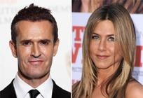 Rupert Everett and Jen Aniston Dave Hogan/Getty Images;Steve Granitz/WireImage
