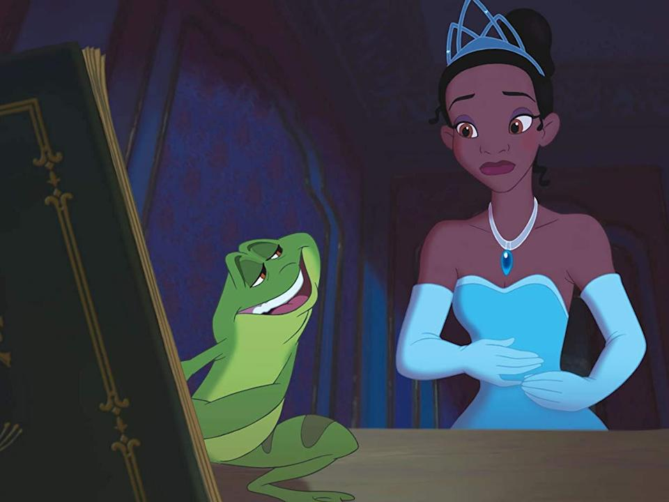 "Bruno Campos and Anika Noni Rose costar in ""The Princess and the Frog."""
