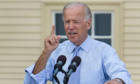 "Vice President Joe Biden speaks at a campaign event on Sept. 7 in Portsmouth, N.H.: Biden might be able to outdo Ryan if he calls the congressman out on his budget math, and brings up the ""untruths"" that Mitt Romney put forth at the first presidential debate."