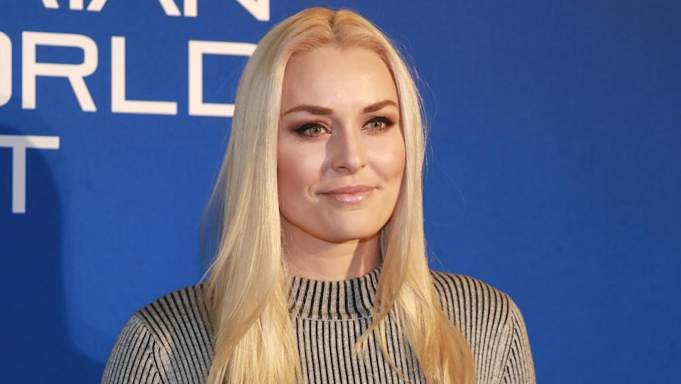 Lindsey Vonn is opening up about experiencing body-shaming on the red carpet. (Image via Getty Images)