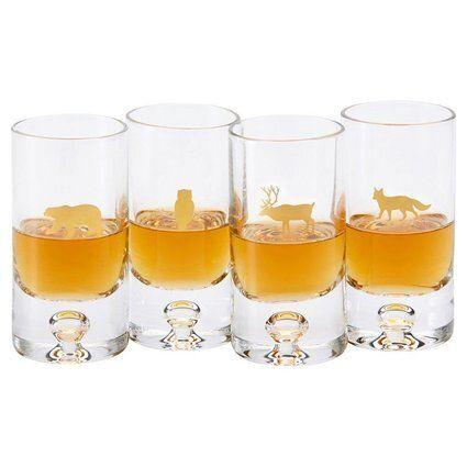 """<a href=""""http://www.chapters.indigo.ca/house-and-home/gifts/woodland-animal-shot-glasses-assorted/882709125181-item.html?ikwsec=Home&ikwidx=0"""" target=""""_blank"""">Woodland Animal Shot Glasses – Assorted, Set of 4, $20, available at Indigo</a>"""