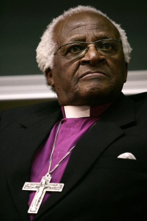Tutu has been a towering figure on the world stage (AFP/GIANLUIGI GUERCIA)