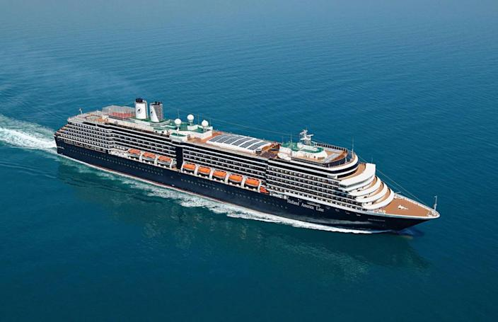 Image: Holland America Line's MS Westerdam at sea
