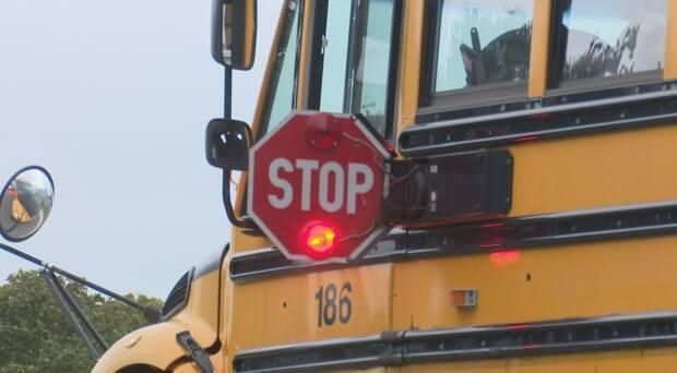 If you don't stop for a school bus, you could face a fine of $1,000 and a license suspension.  (Brian Higgins/CBC - image credit)