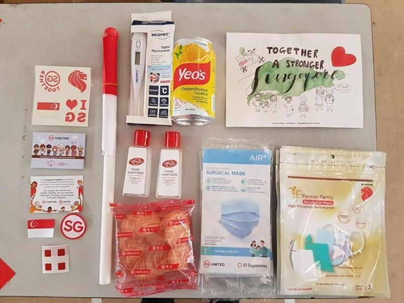Items From NDP 2020 Packs