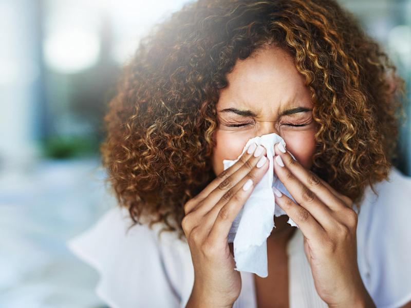 Avoid eating certain foods such as almonds, apples, apricots, carrots, celery, cherries, hazelnuts and kiwis as these can only make you more reactive to pollen: iStock
