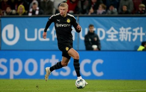 Manchester United missed out on Erling Haaland - the Norway striker moving to Borussia Dortmund this winter - Credit: Getty Images