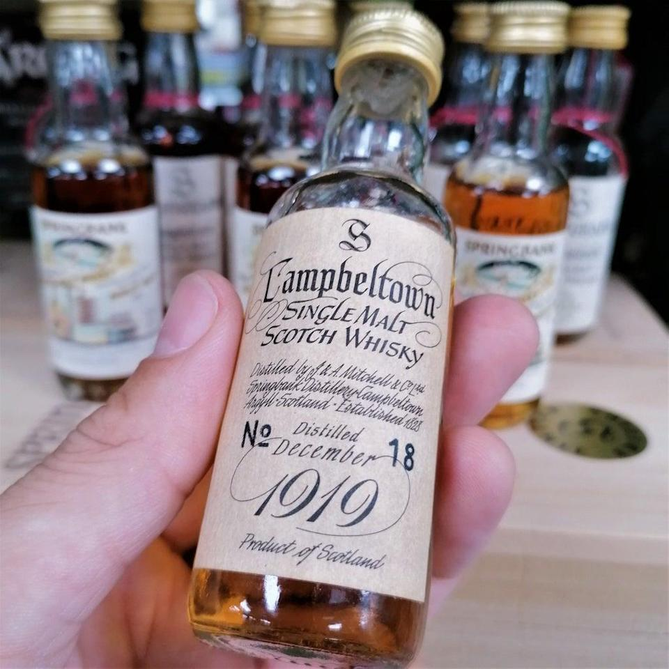 The bottle sold for £6,640 (Whisky.Auction/PA)