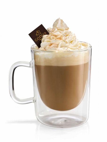 PHOTO: The pumpkin spice latte will be available for fall beginning September 3. (Godiva)