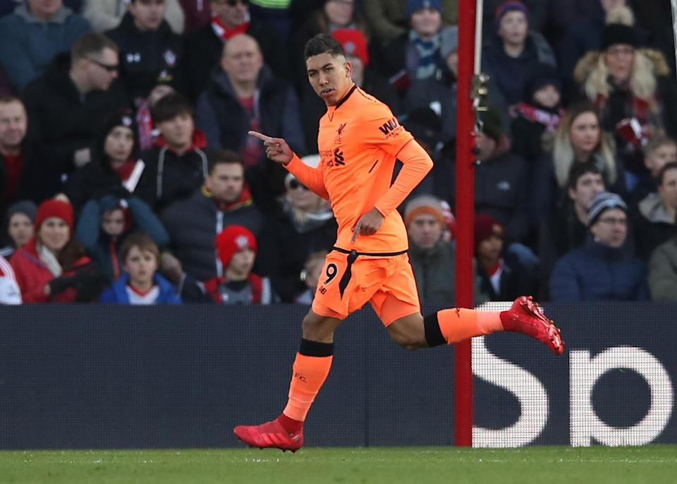 Roberto Firmino scored his 20th goal of the season and recorded another assist as Liverpool beat Southampton 2-0