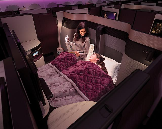 Qatar Airways' QSuite