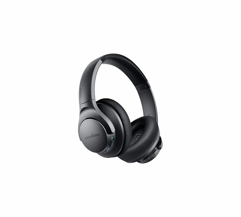 """<p><strong>Soundcore</strong></p><p>amazon.com</p><p><strong>$59.99</strong></p><p><a href=""""https://www.amazon.com/dp/B07NM3RSRQ?tag=syn-yahoo-20&ascsubtag=%5Bartid%7C10060.g.37002628%5Bsrc%7Cyahoo-us"""" rel=""""nofollow noopener"""" target=""""_blank"""" data-ylk=""""slk:Shop Now"""" class=""""link rapid-noclick-resp"""">Shop Now</a></p><p>During our testing, we expected the Q20 to perform adequately, but these economical over-the-ear headphones actually amazed us by how much they outperformed their price. They give you multipoint connection, offer a variety of sound modes, and provide decent noise cancellation. You won't mistake them for top models like the Sony WH-1000XM4 or Bose 700, but they come closer to those benchmarks than the $80 price suggests.</p>"""