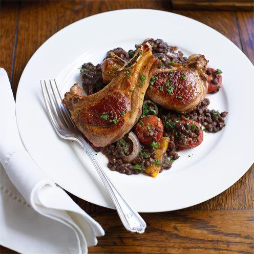 """<p>This hearty lamb and lentil dish will warm you up on cold winter nights.</p><p><strong>Recipe: <a href=""""https://www.goodhousekeeping.com/uk/food/recipes/a535625/lamb-with-red-wine/"""" rel=""""nofollow noopener"""" target=""""_blank"""" data-ylk=""""slk:Lamb with Red Wine and Lentils"""" class=""""link rapid-noclick-resp"""">Lamb with Red Wine and Lentils</a></strong></p>"""