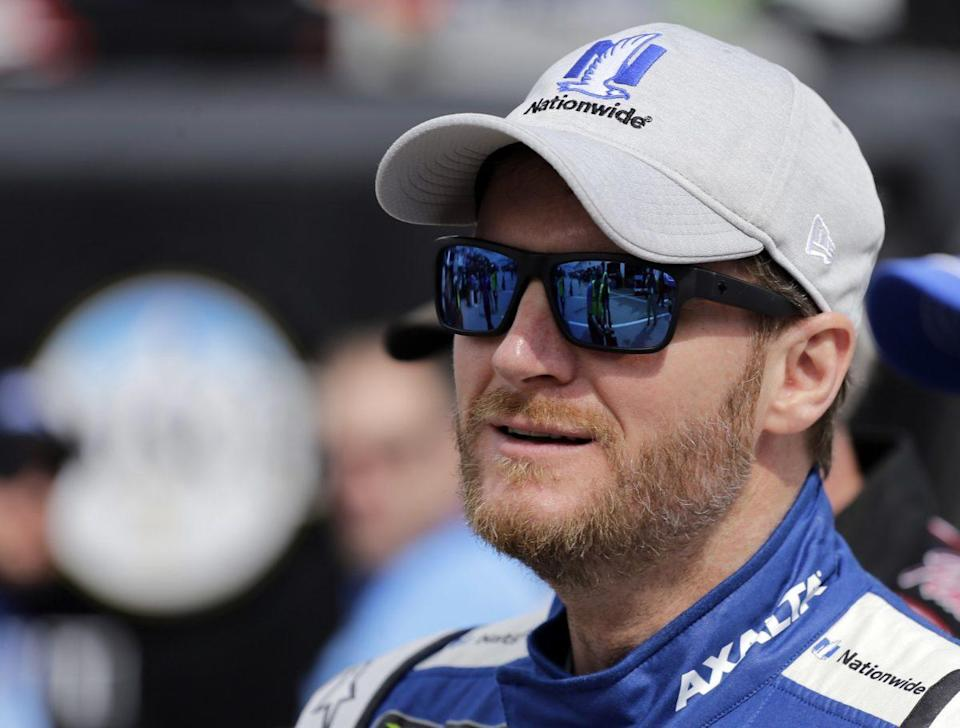 Dale Earnhardt Jr. has said he'll retire if he wins the championship this year. (AP)