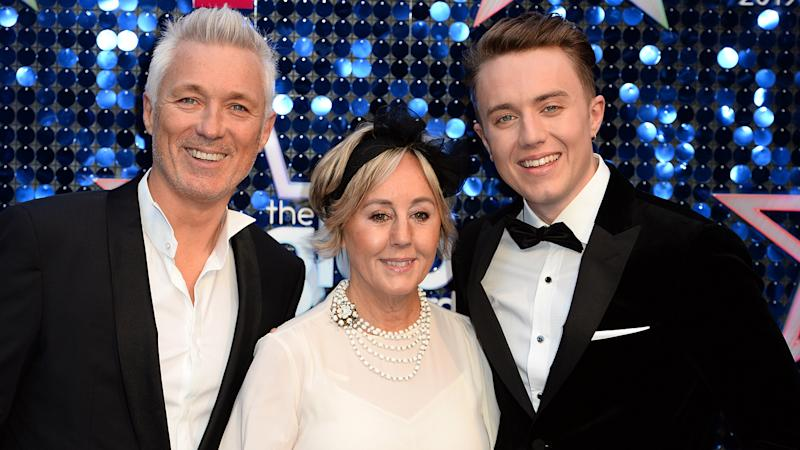 Martin, Shirley and Roman Kemp attend The Global Awards 2019