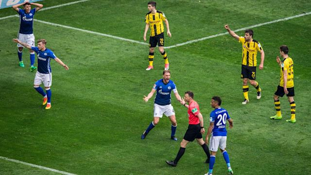 Roman Burki felt Dortmund should have been comfortable before the 1-1 derby draw at Schalke ended with a handball claim against Marc Bartra.