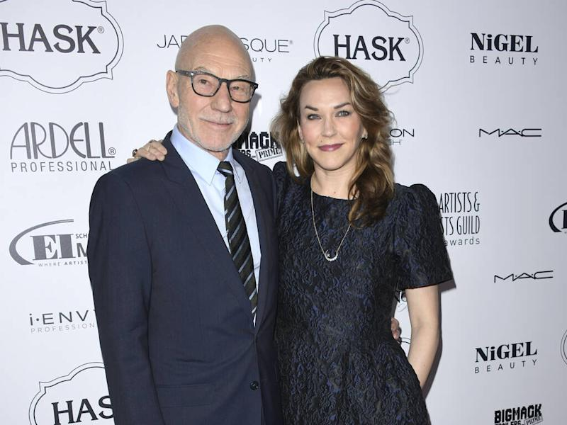 Patrick Stewart touched pal Ian McKellen has only officiated his wedding