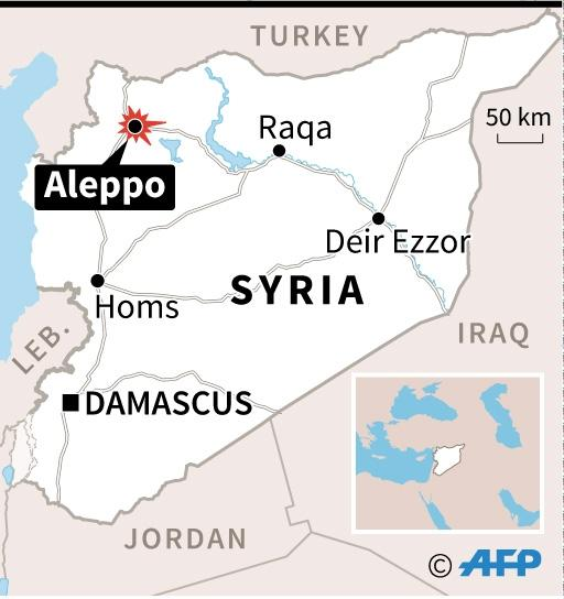 The West has expressed increasing alarm at the situation in Aleppo, saying the ferocious Russian-backed onslaught on the rebel-held east could amount to a war crime (AFP Photo/afp)