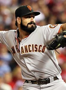 Brian Wilson closed things out as the Giants advanced to the World Series