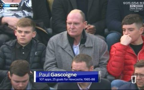 gazza for newcastle