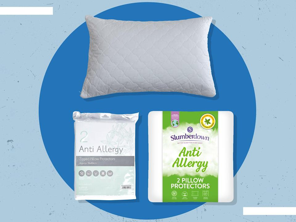 There are two main types of pillow protector to choose from: single layer or quilted (iStock/The Independent)